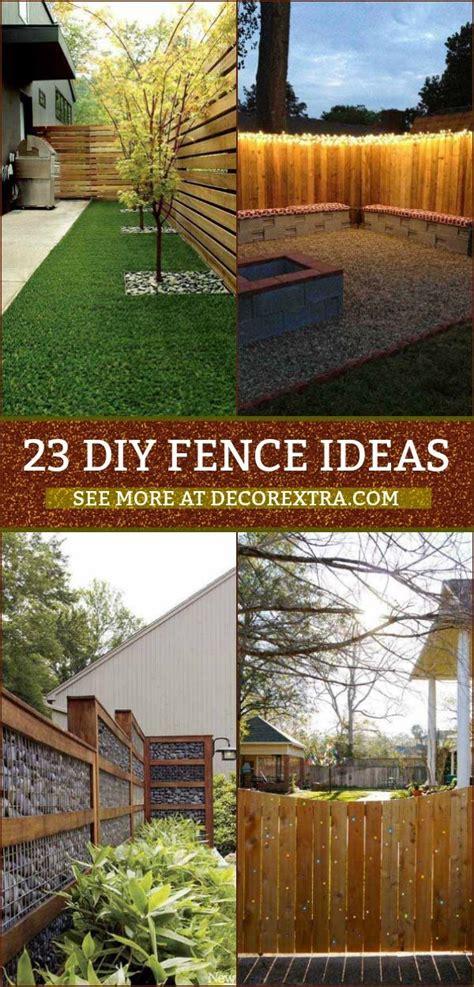 creative diy privacy fence design ideas diy privacy