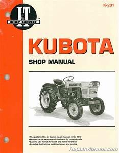 Kubota Tractor Manual L175 L210 L225 L225dt L260 B5100d