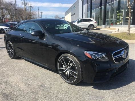 Paired with mercedes' eq boost. New 2019 Mercedes-Benz E53 AMG 4MATIC+ Coupe for sale - $102911.0 | Mercedes-Benz Gatineau