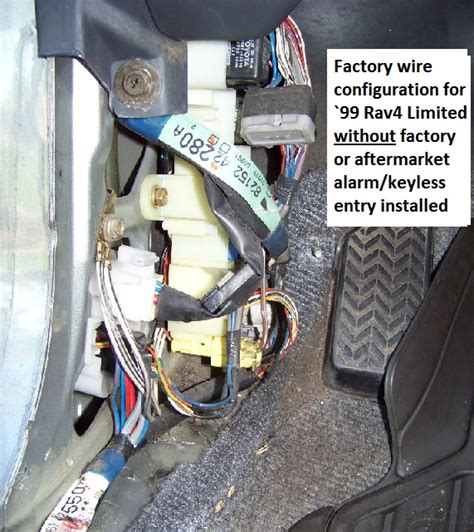 Rav 4 Keyles Entry Wiring Diagram by Diy Install 12 Keyless Entry On Your 4 1 Instead Of