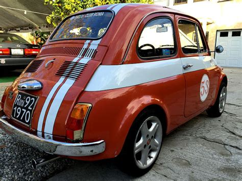 Fiat 500 Club by Classic 1972 Fiat 500 Owned By The President Of The