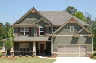 Craftsman Style Houses with Vinyl Siding