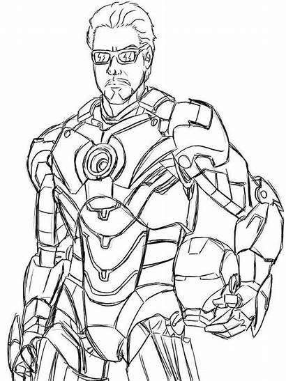 Coloring Pages War Machine Printable Colors Recommended