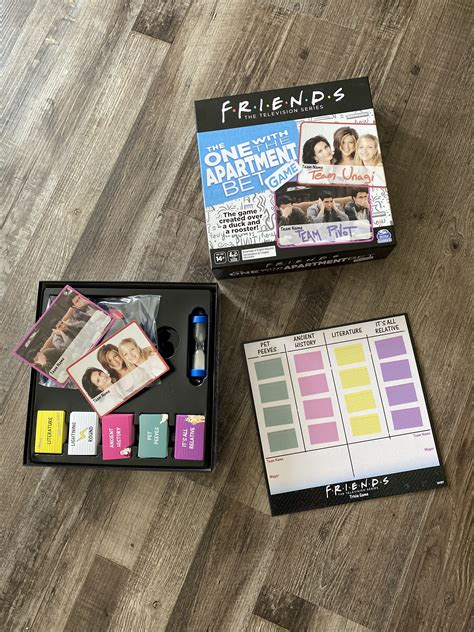 friends tv show     apartment bet party game