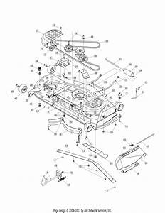 Mtd 13ap625k730  2007  Parts Diagram For Deck 54