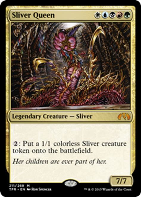 Sliver Edh Deck Build by For Great Revelry Daily Mtg Magic The Gathering