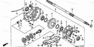 Honda Atv 2000 Oem Parts Diagram For Final Driven Gear