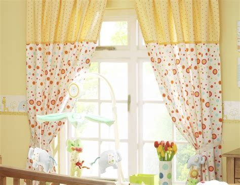 5 styles of nursery curtains