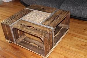 Cagette En Bois : table basse cagette ~ Teatrodelosmanantiales.com Idées de Décoration