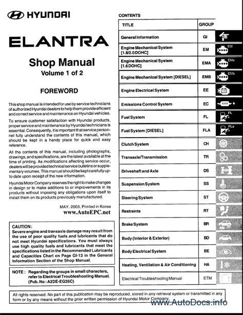 [Free Download 2012 Hyundai Elantra Service Manual] - 2012