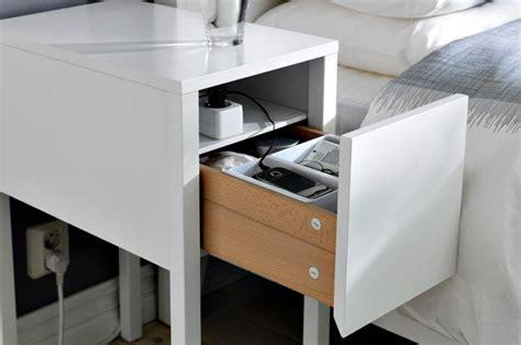 Ikea Nordli Nightstand by Nordli Nightstand White Bedrooms Ikea Bedroom