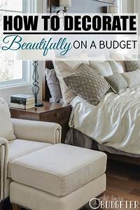6 step system to decorate beautifully on a budget With how to decorate a house on a budget