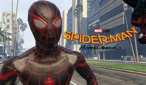 Ultimate Spiderman  Miles Morales [addon Ped] Gta5