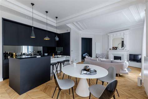 architecte cuisine haussmann epuré architecte d 39 intérieur