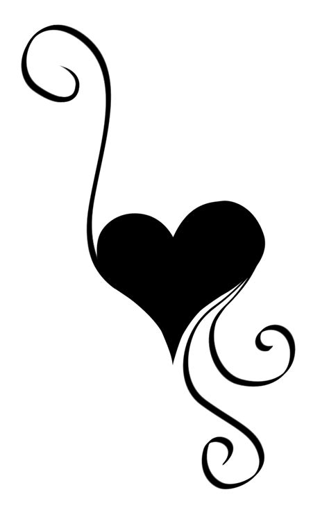 swirly love cliparts   clip art