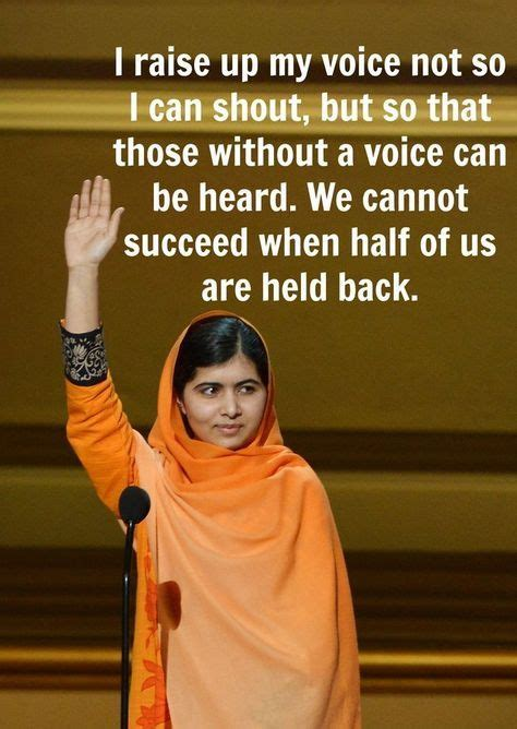powerful  inspiring quotes  malala yousafzai