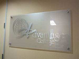 Custom acrylic signs plastic signage durable and made for Small plastic letters for signs