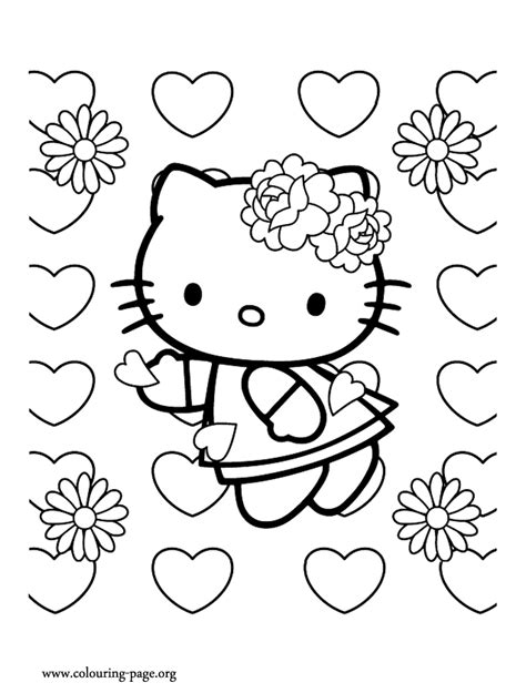 Hd Wallpapers Hello Kitty Coloring Pages App