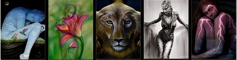 Craig Tracy's Fine-Art Bodypainting Gallery   The one and ...