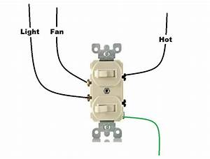 Wiring Diagram For Dual Light Switch