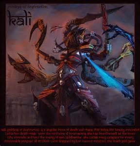 Kali Goddess of Destruction deviantART