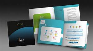 Two Fold Brochure Booklet Design And Printing For Business Intelligence Solution