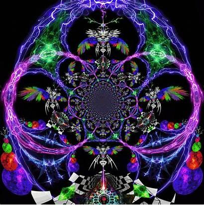 Fractal Animated Gifs Kindred Fractals Animation Spirit