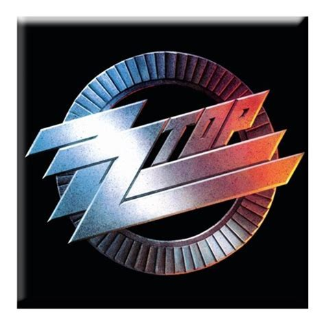 ZZ Top Circle Logo Magnet