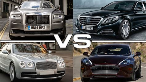 Rolls Royce Vs Maybach by Rolls Royce Ghost Series Ii Vs Mercedes Maybach Vs Bentley