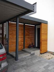 Carport Holz Modern : vordach glas holz hauseingang modern eingang edelstahl g nstig haust r aus holz anthrazit ~ Markanthonyermac.com Haus und Dekorationen