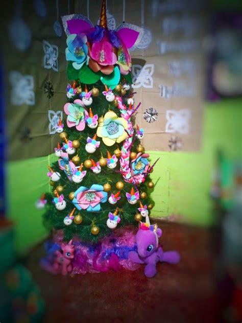 Árbol de Navidad Unicornio Navidad Arbol de navidad