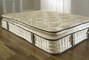 5ft king size 2000 pocket spring orthopaedic organic With best king size pillow top mattress