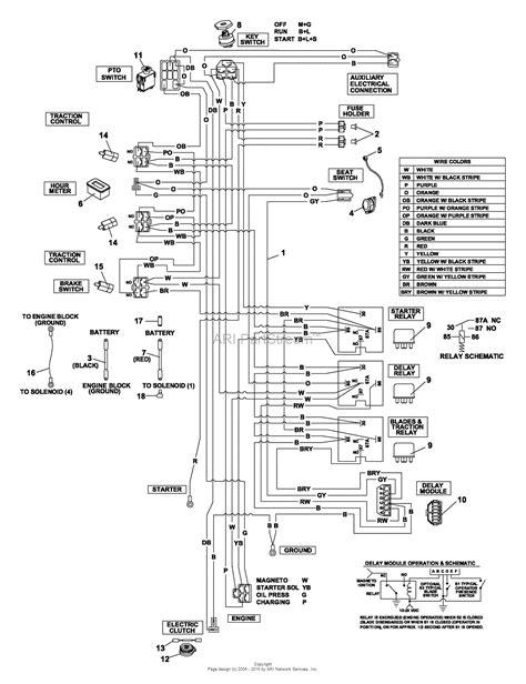 bunton bobcat 942240a zt 226 26hp w 52 quot side discharge parts diagram for generac wire