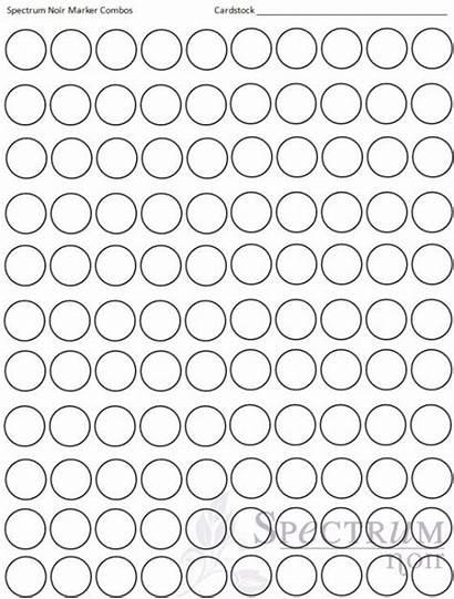 Blank Chart Marker Spectrum Noir Markers Printable