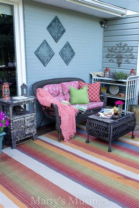 Decorating Ideas On A Budget by Deck Decorating Ideas On A Budget