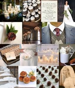 winter wedding or winter theme