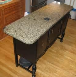 custom kitchen islands that look like furniture reclaimed historic calumet hecla cape granite
