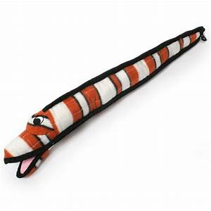 striped eel extra tough dog toy With extra tough dog toys