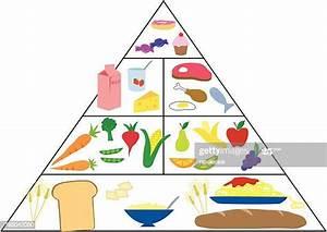 Food Pyramid High Res Illustrations