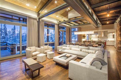 chalet living room designs ideas design trends