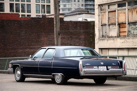 brougham interiors vancouver purchase used 1974 cadillac fleetwood brougham original