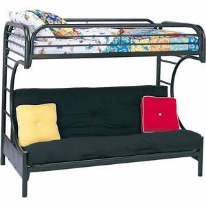 eclipse twin over futon metal bunk bed multiple colors With walmart twin sofa bed