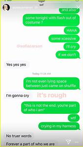 Dove Cameron  U0026 Sofia Carson U2019s Texts About  U2018descendants 3