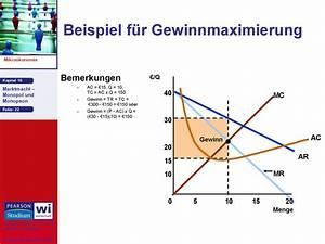 Gewinnmaximierung Monopol Berechnen : marktmacht monopol und monopson ~ Themetempest.com Abrechnung