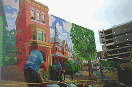 Philadelphia Mural Arts Map by Celebrating Mural Arts Month In City Map