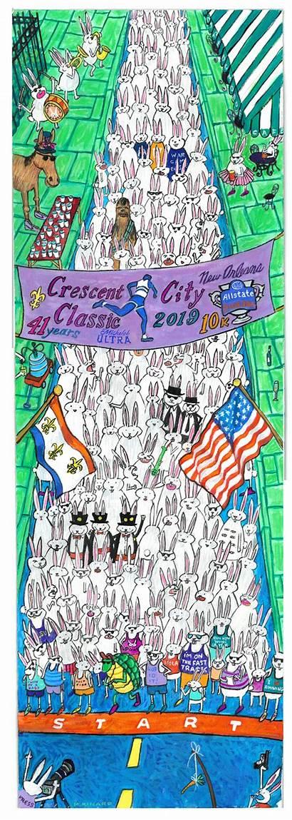 Classic Crescent Poster Allstate Sugar Bowl Race