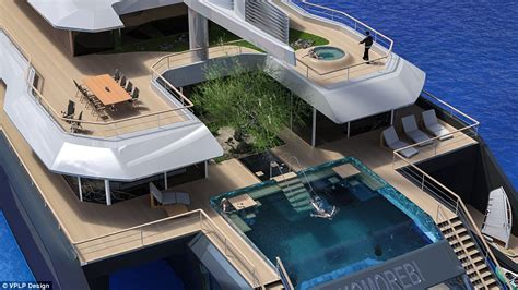 komorebi hybrid superyacht comes with a swimming pool and tree daily mail online