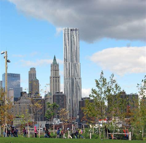 new york terminata la beekman tower di frank gehry
