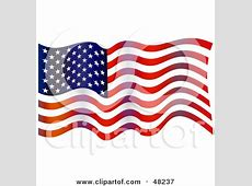 Waving World Flag Against A Blue Sky Posters, Art Prints
