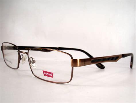 s designer eyeglasses levi s 580 bronze eyeglasses eyewear new frames